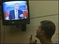 Владимир Путин в эфире