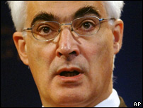 Chancellor, Alistair Darling