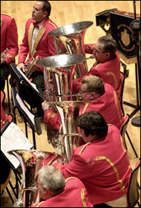 Members of the Cory Band