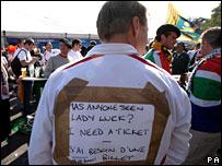 England fan Ted Wainman