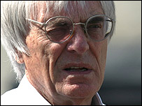 F1 boss Bernie Ecclestone