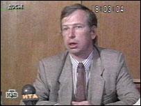 Виктор Черкесов (кадр НТВ)