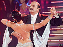 Willie Thorne and Erin Boag
