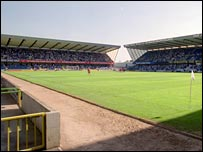 The New Den, home of Millwall