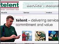 Telent web site