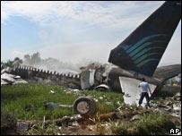 crash site ( 07/03/07)