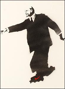 """""""Lenin on Roller-skates (Who Put The Revolution On Ice?)"""""""