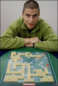 National Scrabble champion Paul Allan