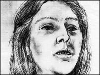 Artist's impression of Bedgebury Forest murder victim