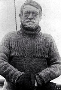 Explorer Ernest Shackleton