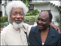 Wole Soyinka and General Gowon