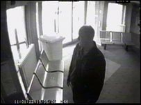 Police station CCTV of Ronald Dixon