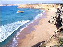 Sagres beach - Photo: Dimitri Kireyev