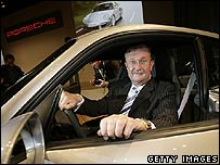Porsche's chief executive, Wendelin Wiedeking