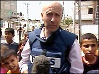 Alan Johnston reporting in Gaza