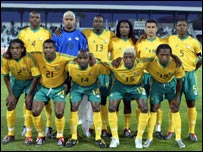 The South Africa national team