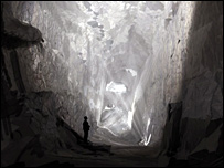 A cavern in the Black Country