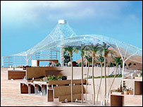 Plans for the Edge building at the Eden Project