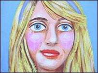 Stella Vine: Diana Blue Hairband