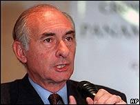 Fernando de la Rua, former Argentine president (image from 1999)