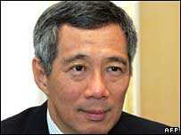 File pic of Singaporean PM Lee Hsien Loong