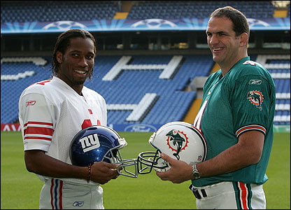 Footballer Didier Drogba (himself no stranger to playing at Wembley) and rugby legend Martin Johnson are honorary captains