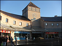 Coatbridge town centre