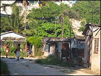 "Barrio marginal ""El Fanguito"".  Foto: Raquel Pérez"