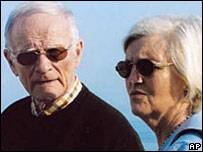 This German couple were thought to resemble Mr Bulger and his companion