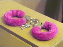 Handcuffs (photo courtesy of Zvonimir Dobrovic)