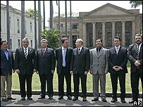 Reunión de representantes de los países interesados en Río de Janeiro, 8 de octubre de 2007
