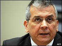 Ministro venezolano de Finanzas, Rodrigo Cabezas