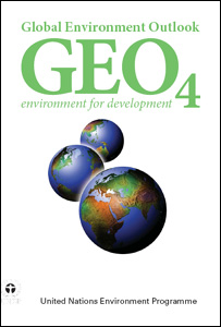 Geo-4 report cover (Image: Unep)