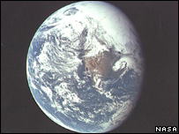 Planet Earth (Image: Nasa)