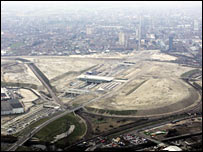 The Olympic site in Stratford, east London