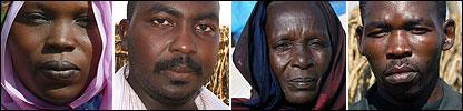 Gente de Darfur [Foto: Mohammed Nureldine]