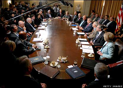 US cabinet meeting, 24 October 2007