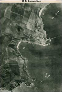 German photograph of Buchan Ness