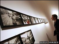 Exhibition of William Klein's street photography