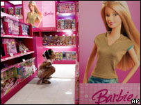 Barbie in toy store, AP