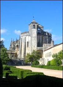 Замок Томар в Португалии