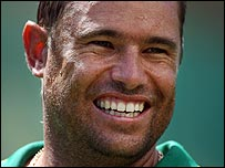 Andrew Hall has played for Kent and Worcestershire