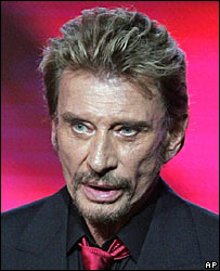 bbc news entertainment profile johnny hallyday. Black Bedroom Furniture Sets. Home Design Ideas