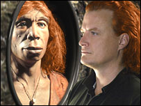 Did Neanderthals have red hair? (Image: Michael Hofreiter/Kurt Fiusterweier/MPG EVA/Science)