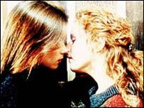 Beth Jordache's kiss