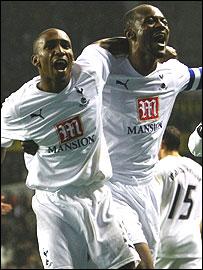 Jermain Defoe and Didier Zokora