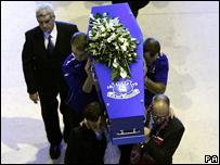 Rhys Jones' funeral
