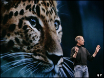 Steve Jobs launches Leopard