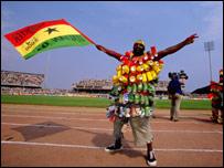 Ghana football fan