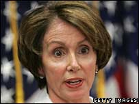 File pic of US House Speaker Nancy Pelosi